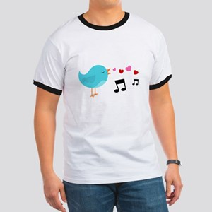 Singing Blue Bird T-Shirt